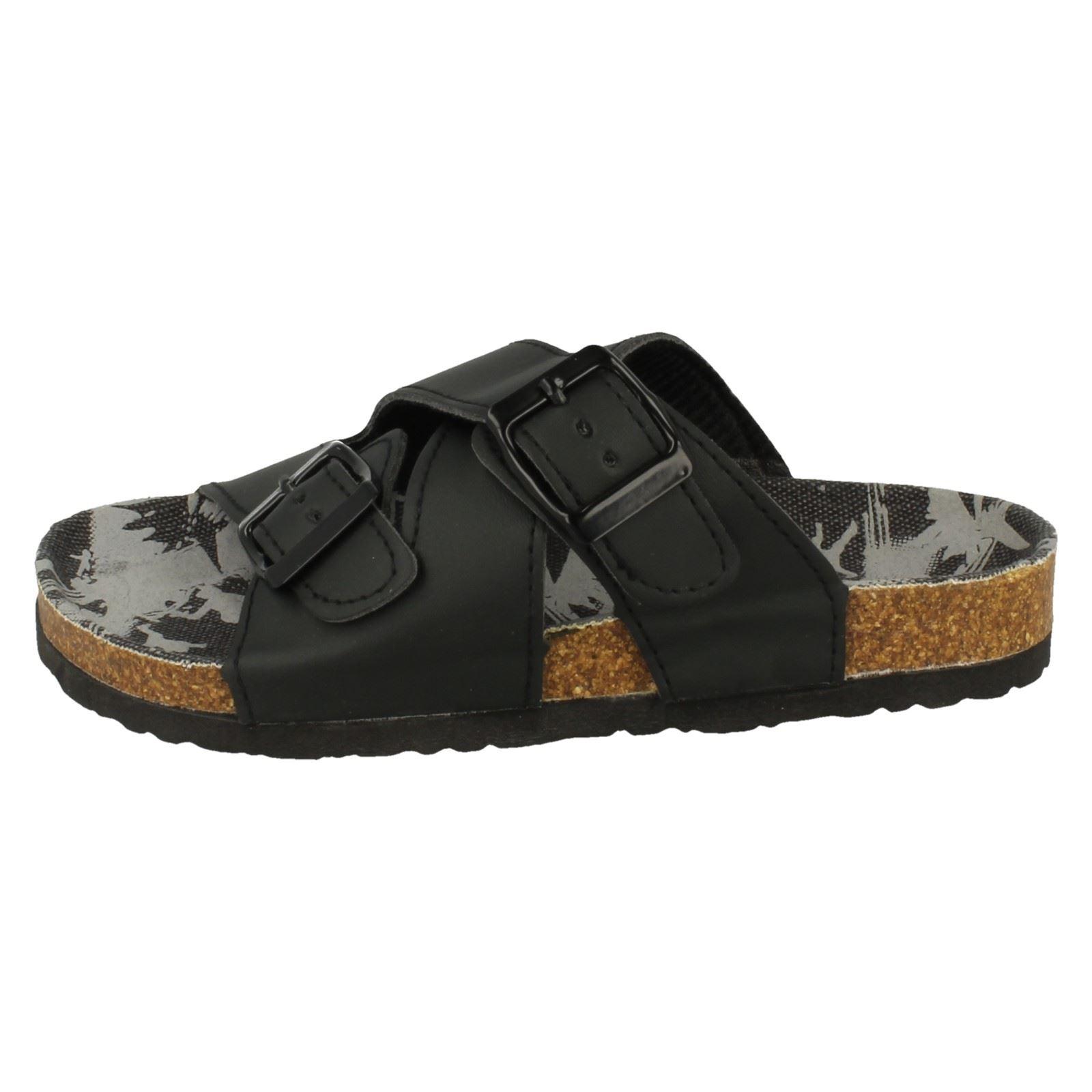 Jungen JCDees Mitte Fußbett x-riemen Sandalen