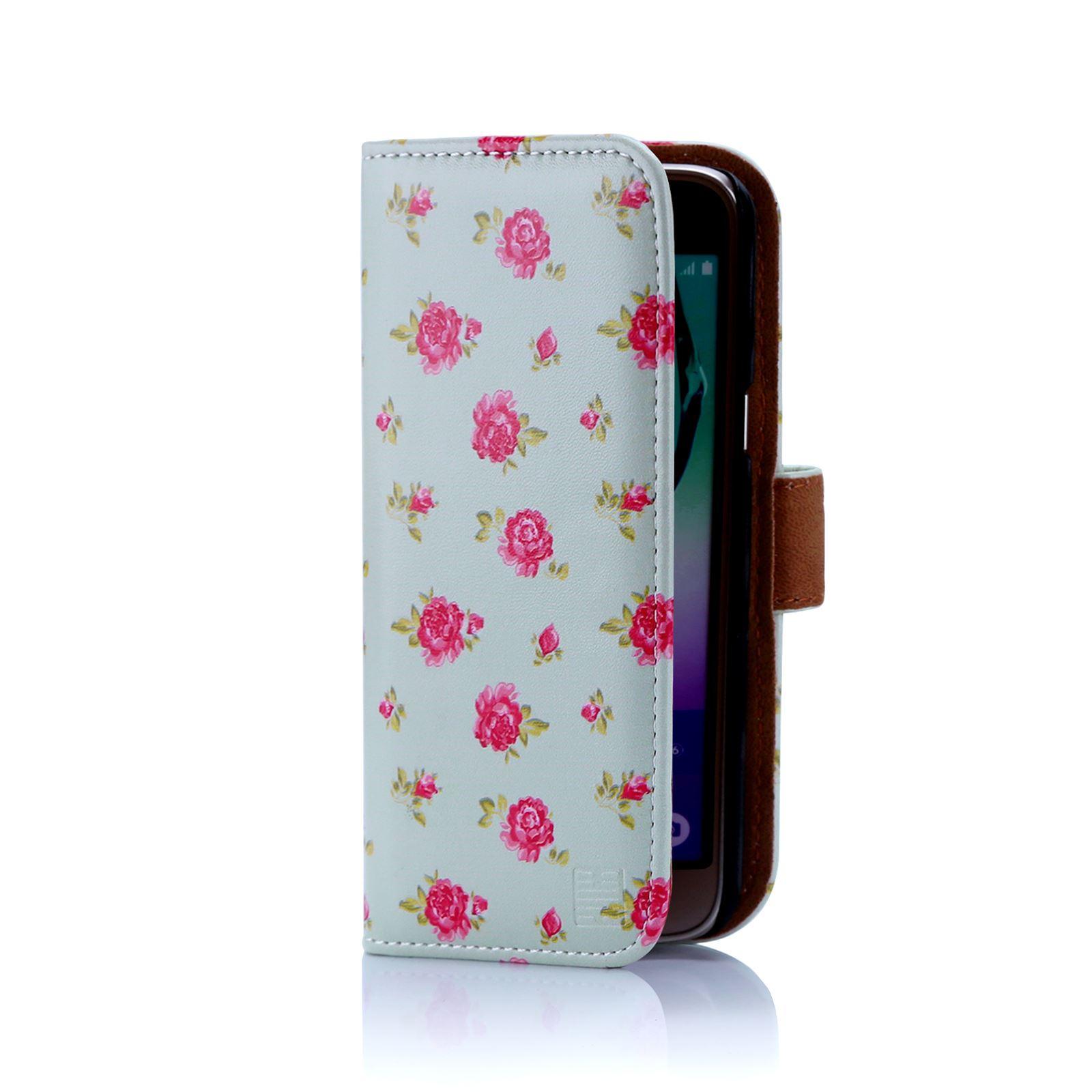 Cuero-Artificial-Diseno-Floral-Funda-Tipo-Cartera-para-Samsung-Galaxy-J3-2016