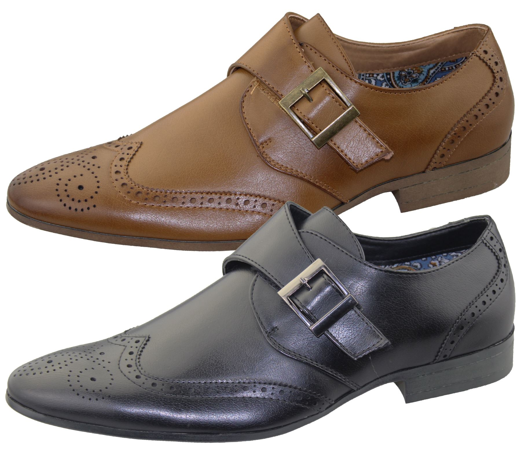 hommes bureau chaussures brogues mariage d contract habill l gant ebay. Black Bedroom Furniture Sets. Home Design Ideas