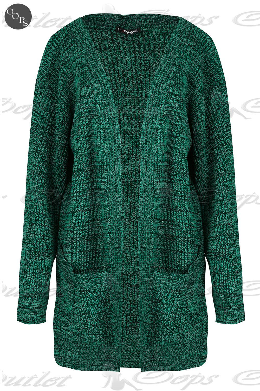 Asymmetric chunky knit vests