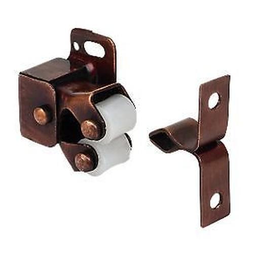 10 x double simple loquet roulette caravane armoire for Roulette porte placard