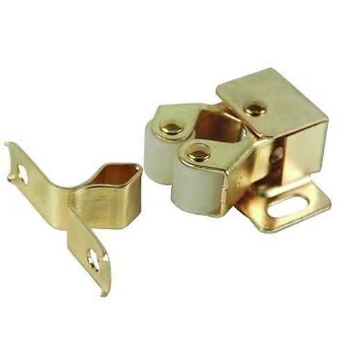 10-X-DOUBLE-TWIN-ROLLER-CATCH-CARAVAN-CUPBOARD-  sc 1 st  eBay & 10 X DOUBLE TWIN ROLLER CATCH CARAVAN CUPBOARD CABINET DOOR CATCH ...