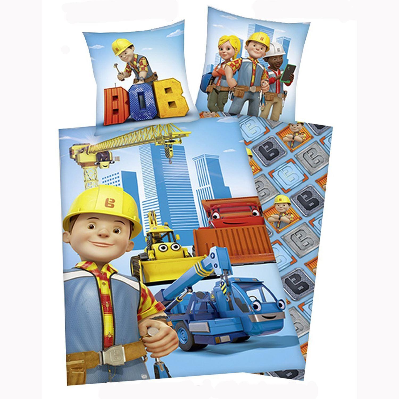 RAGAZZI-DISNEY-amp-PERSONAGGIO-LETTO-SINGOLO-PIUMINO-2-IN-1-SET-LEGO-MACCHINE