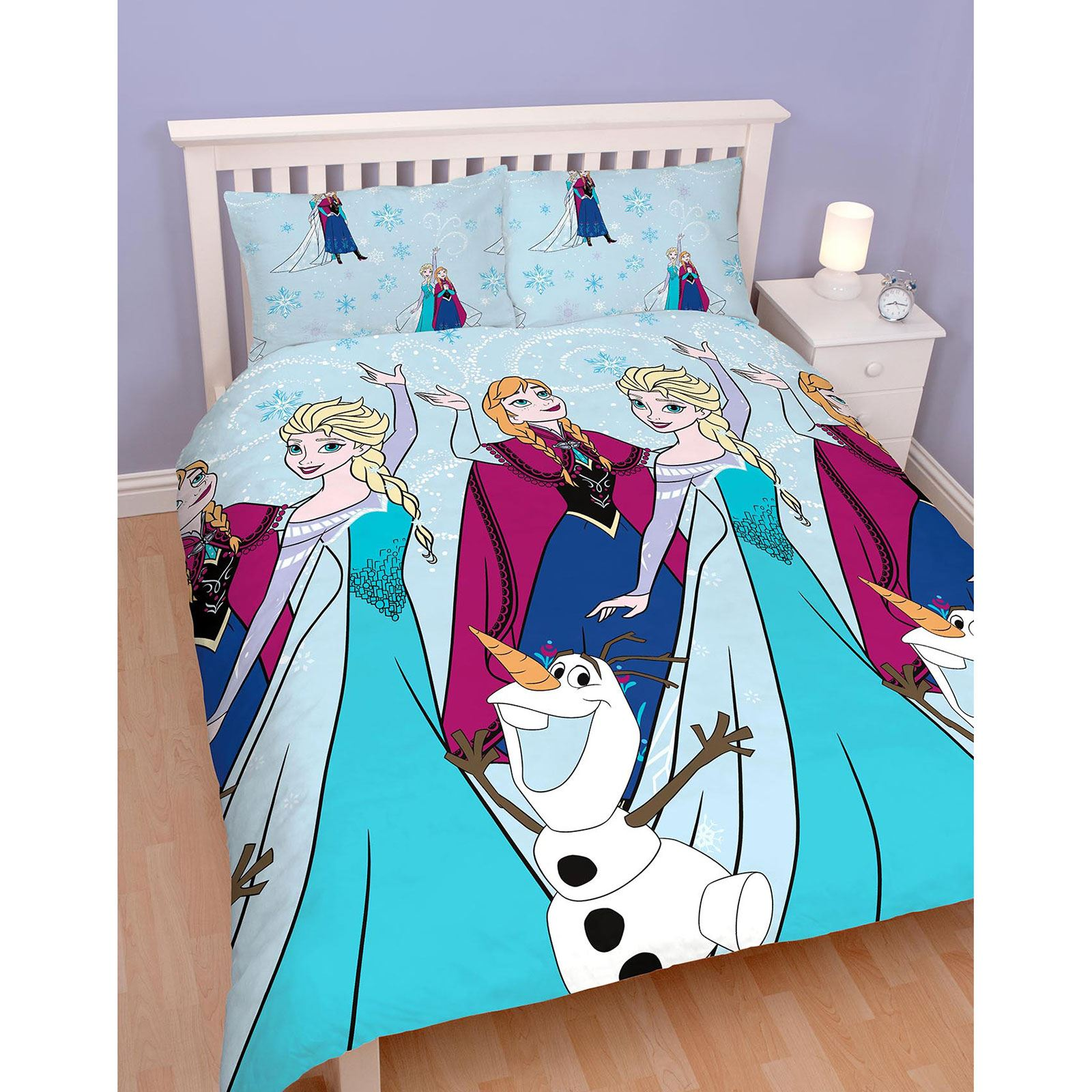 girls character double rotary duvet sets princess paw