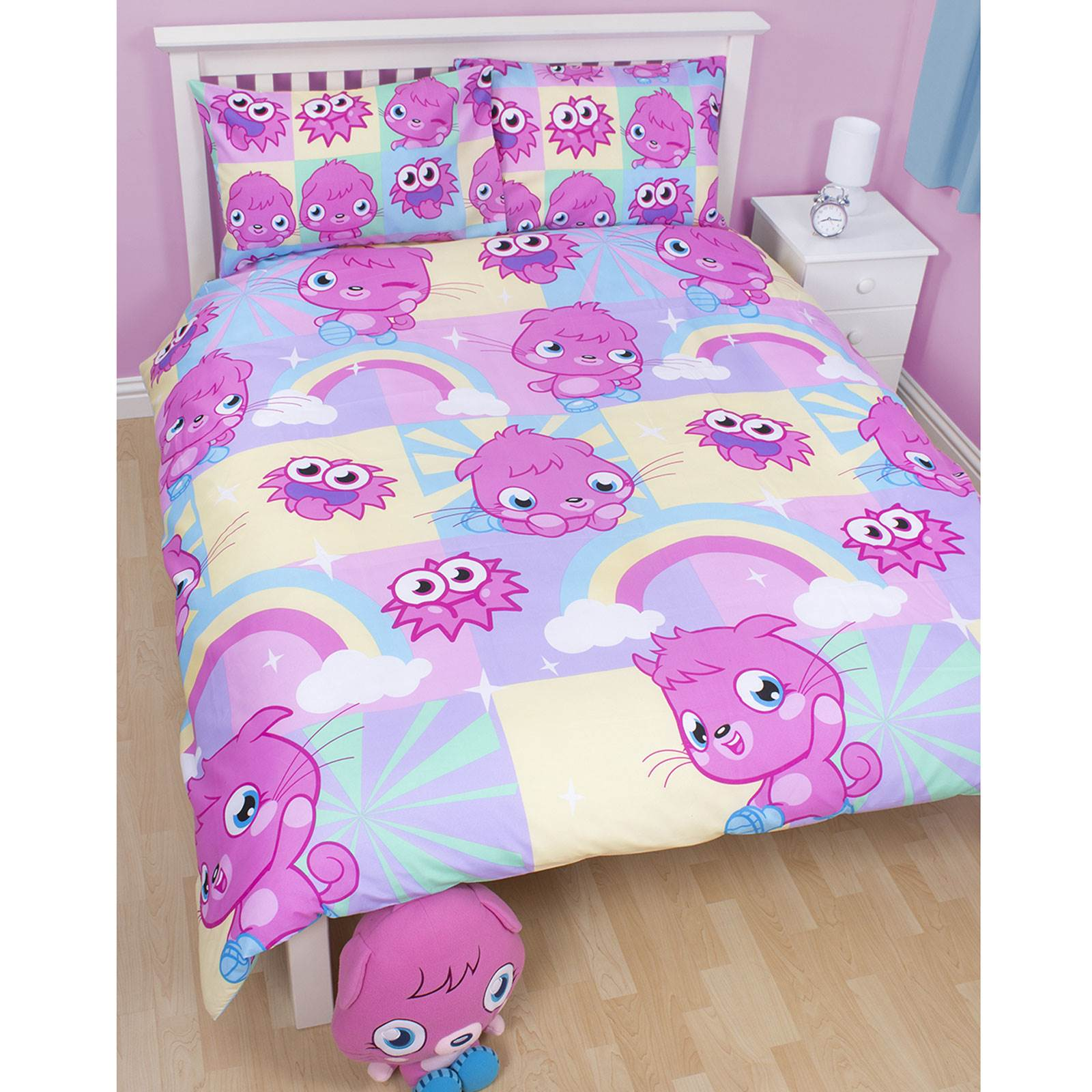 girls double rotary reversible duvet sets princess paw patrol unicorn more ebay. Black Bedroom Furniture Sets. Home Design Ideas