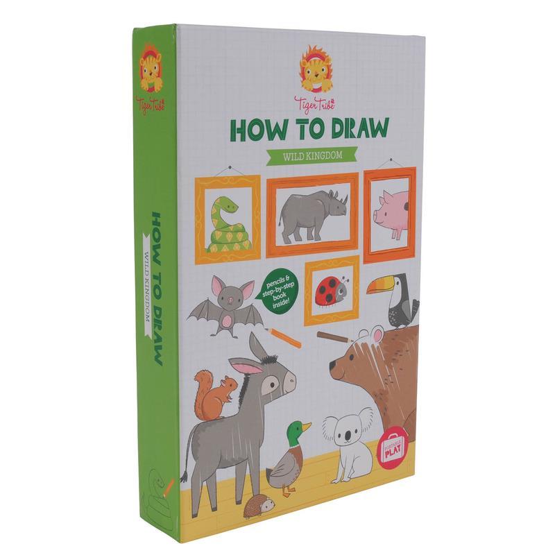 Tiger-Tribe-Juegos-de-creatividad-malschule-step-by-step-A-Partir-De-3-anos