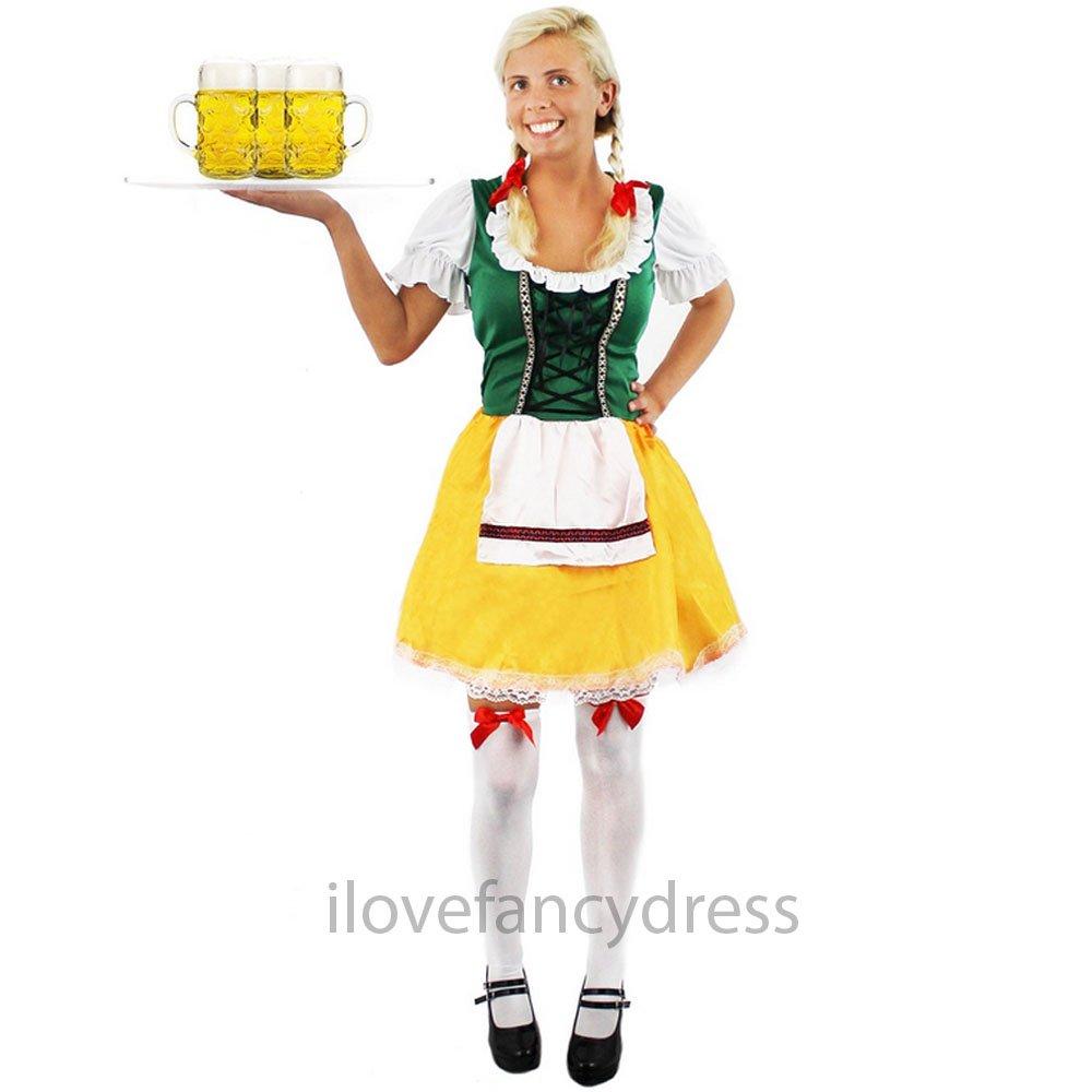 damen oktoberfest kost m deutsche bier dienstm dchen bayrisch farbe w hlen ebay. Black Bedroom Furniture Sets. Home Design Ideas