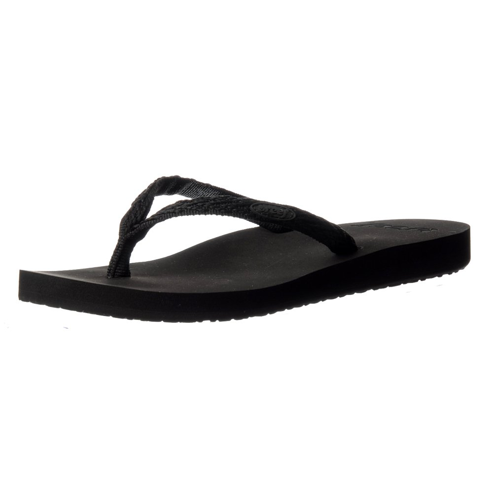 Reef Damen Ingwer Drift Flip Flop Sandale UK5 - Eu38 - Us7 - Au6 Schwarz/schwarz QTE6Zdo