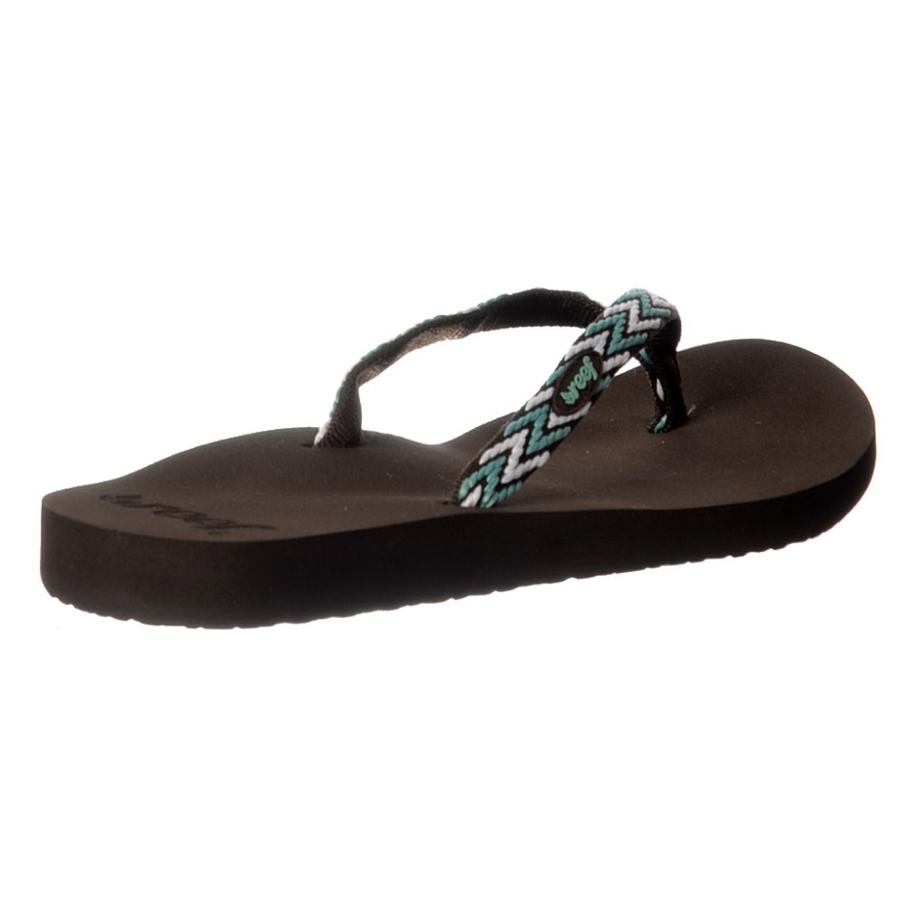 Zapatos negros Reef Ginger para mujer GQgN1jb