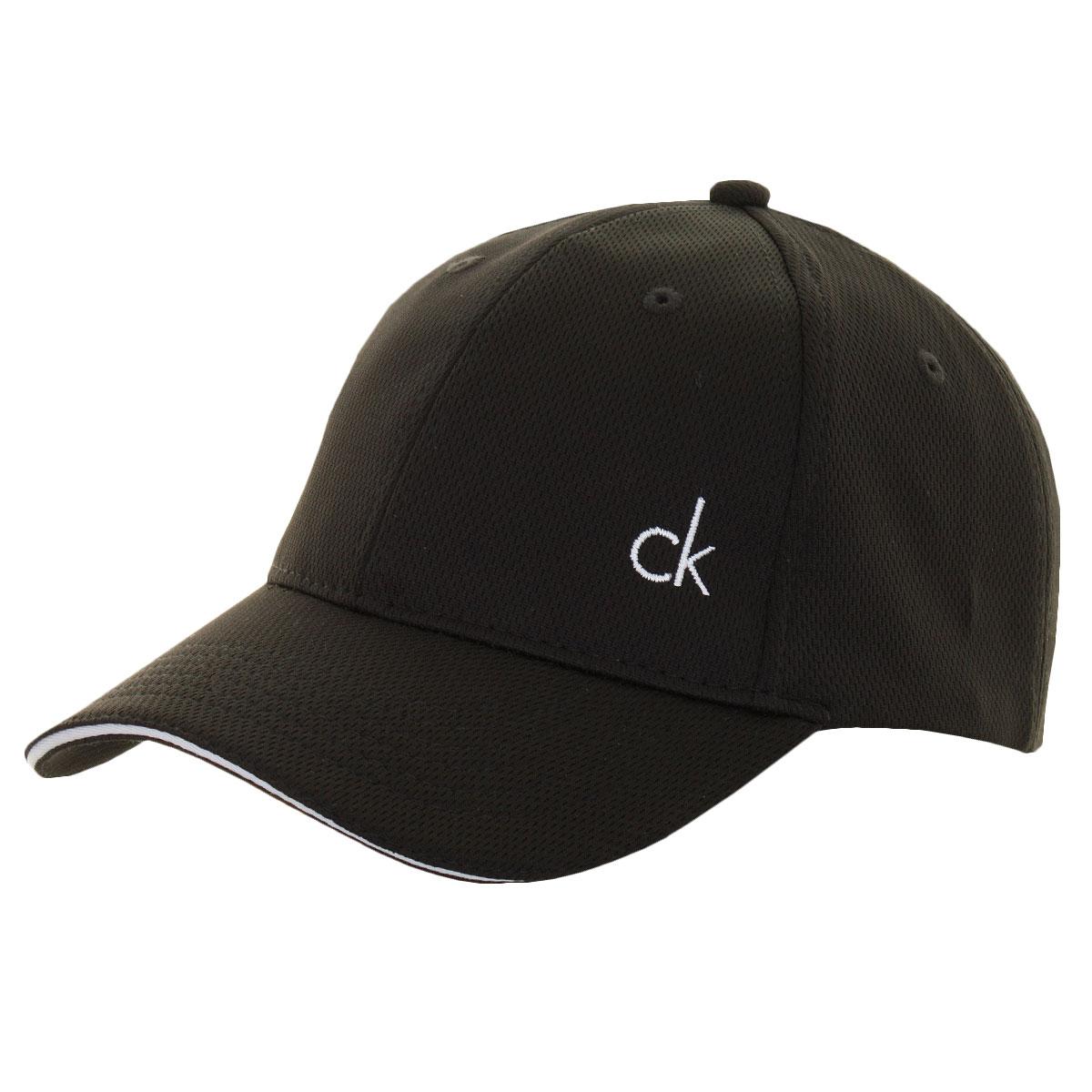 Calvin Klein Golf Mens CK Airtex Adjustable Mesh Baseball Cap 40 ... 4ae7fc0eee5