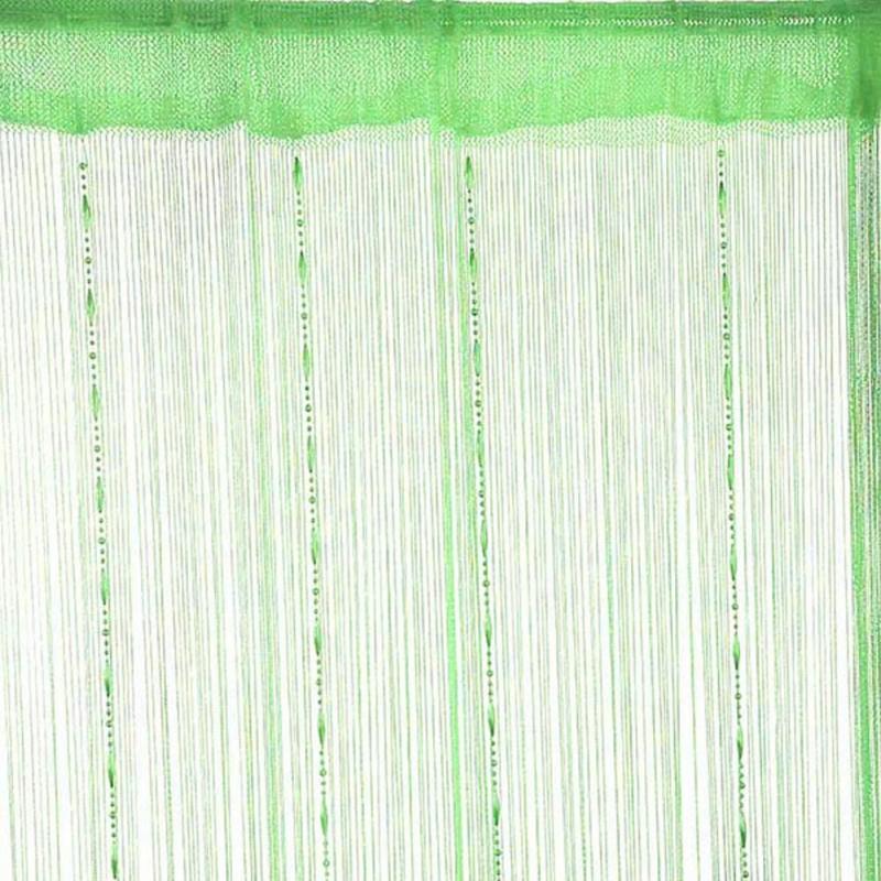 Colores-Cadena-Cuentas-Cuerda-Puerta-Cortina-Pantalla-divisor-habitacion-ventana