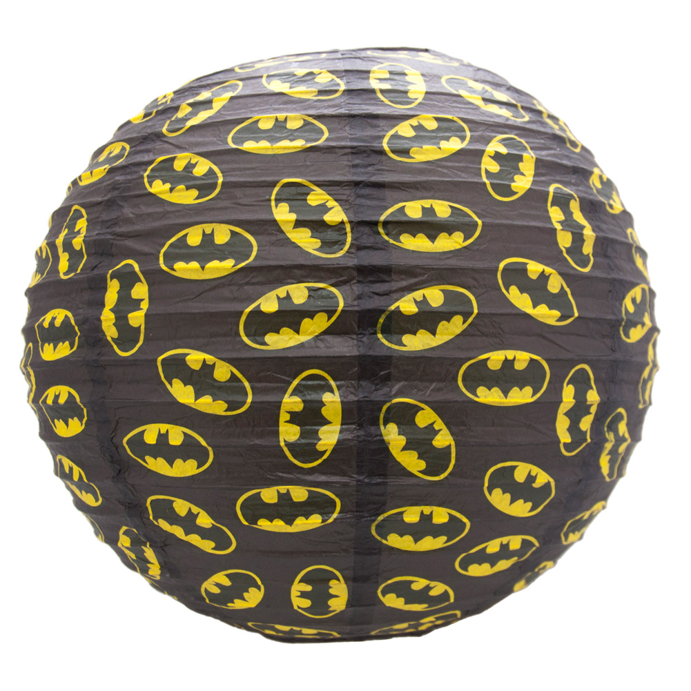 DC-COMICS-spherique-papier-Shade-abat-jour-BATMAN-SUPERMAN-30cm-LUMINAIRE-LAMPE