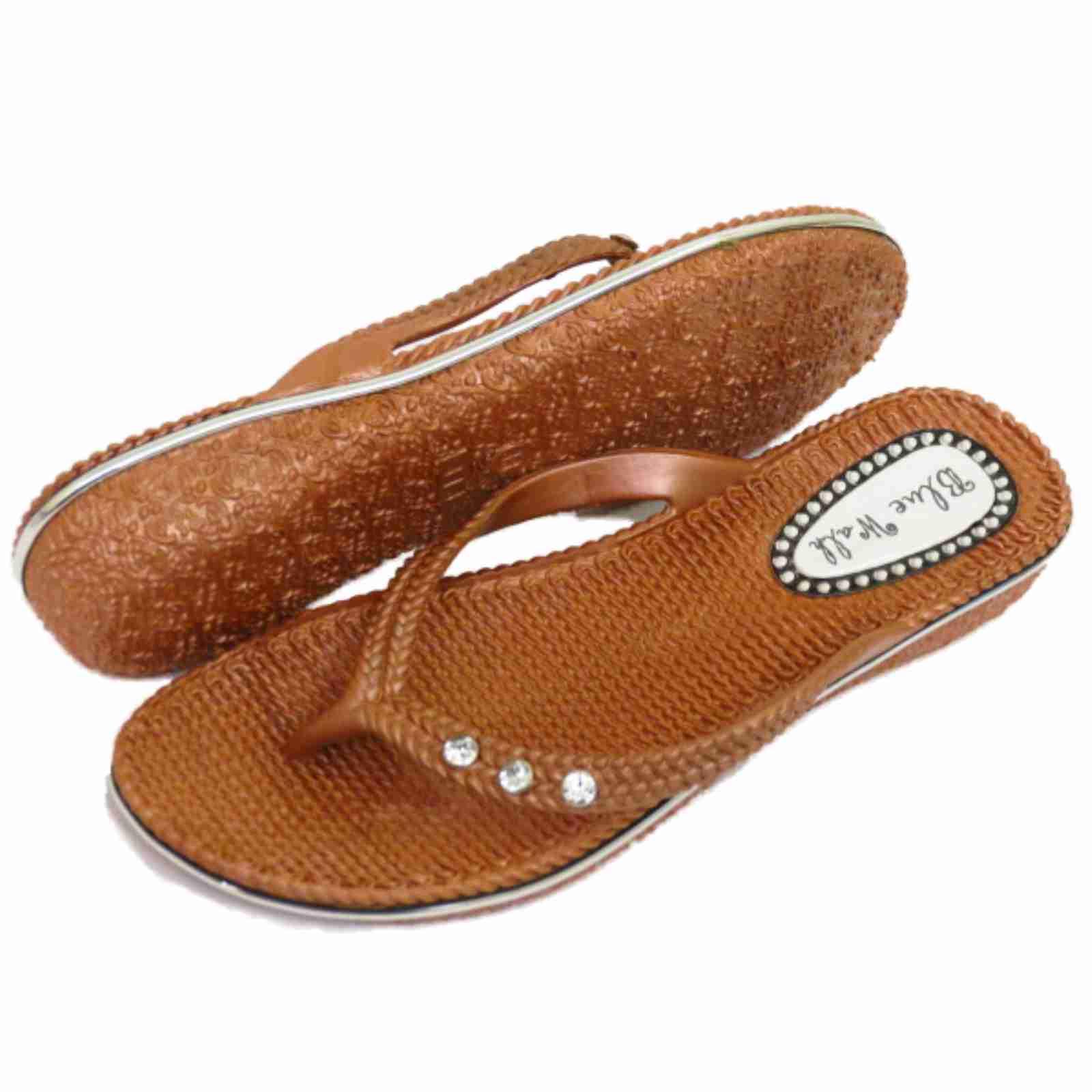 femmes plates bronze sandales tongs tongs plage vacances string chaussure t 3 ebay. Black Bedroom Furniture Sets. Home Design Ideas