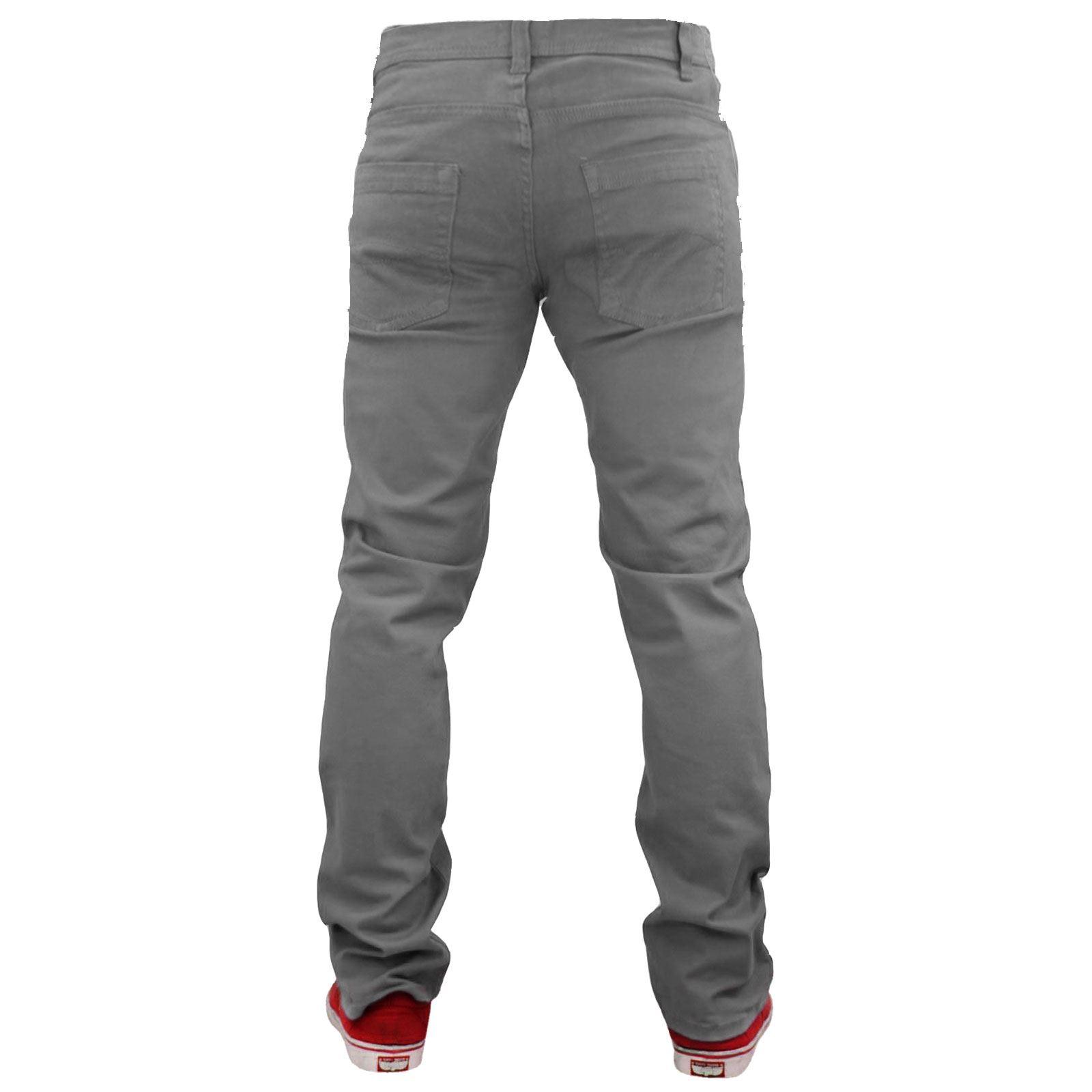 Herren Designer Jack South Baumwolltwill Chino Skinny Fit Jeans Stretch