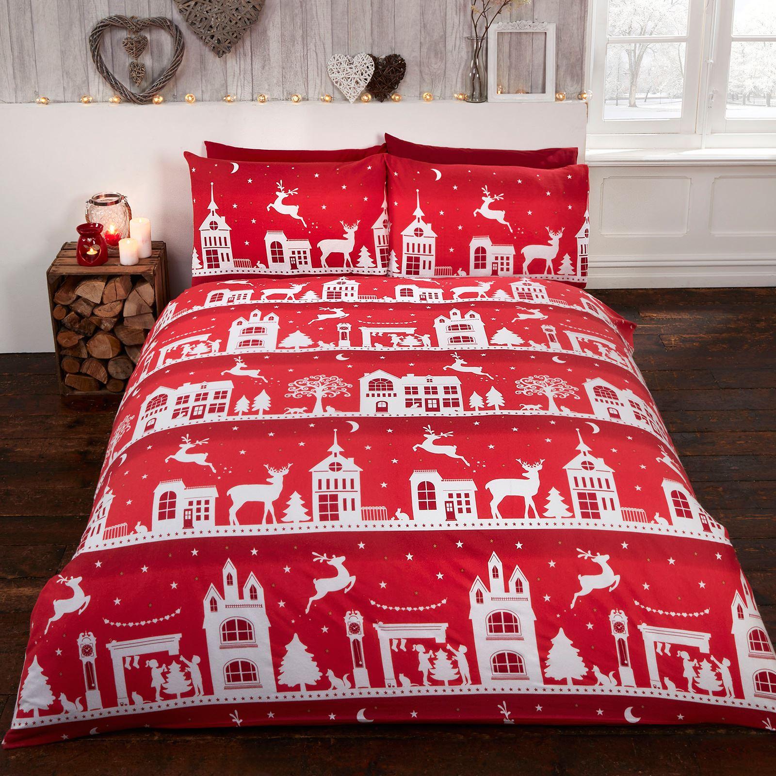 no l housse de couette ensembles 100 coton bross flannelle enfants adultes ebay. Black Bedroom Furniture Sets. Home Design Ideas