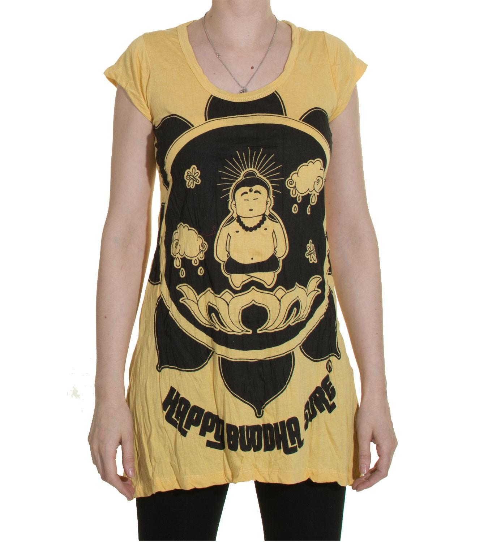 1970s retro strap top mini dress sure buddha lotus flower t shirt picture 2 of 2 izmirmasajfo
