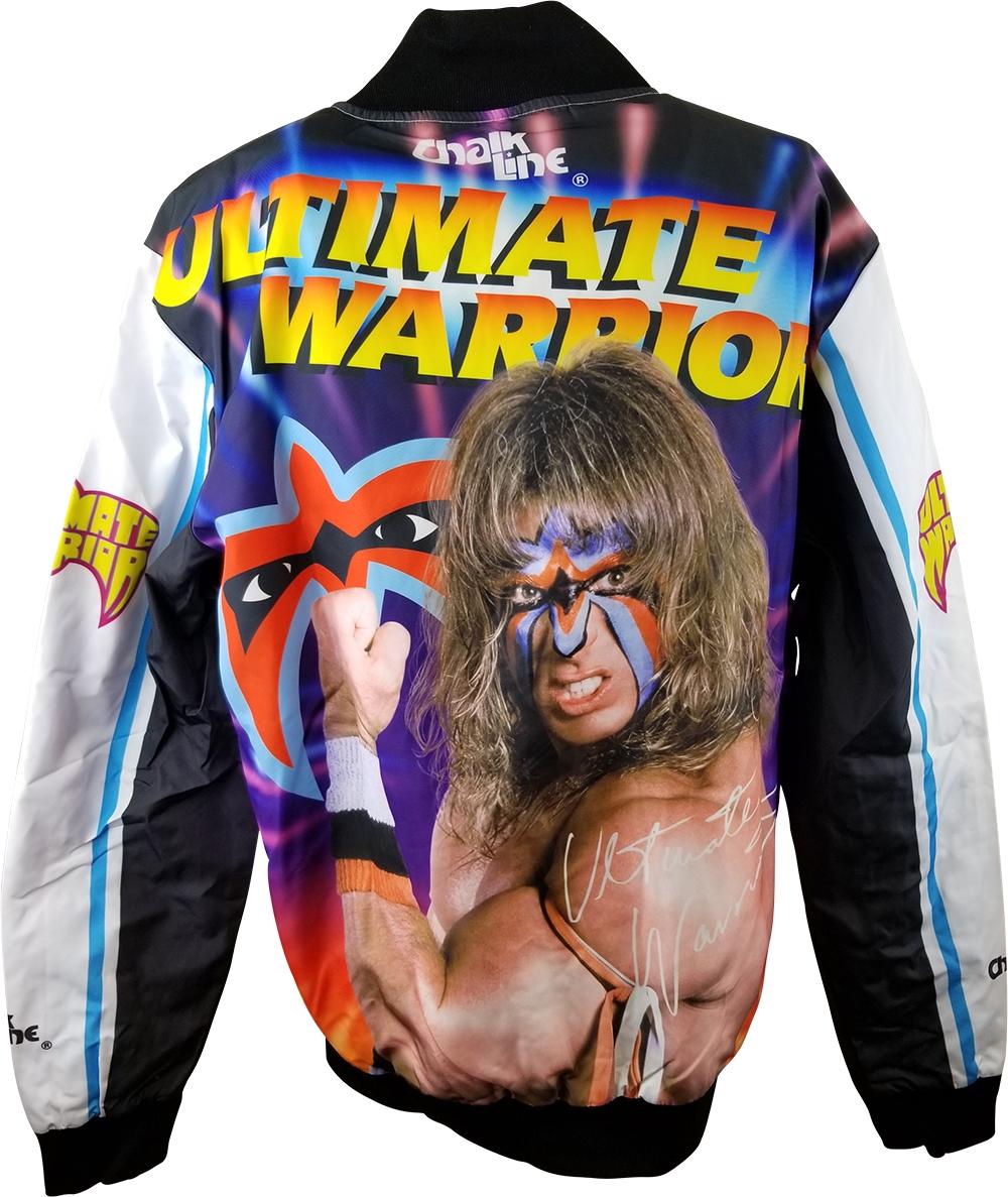 The Leyendas Ultimate Warrior Wwe Leyendas The Fanimation Hilo de Tiza Chaqueta 0da247