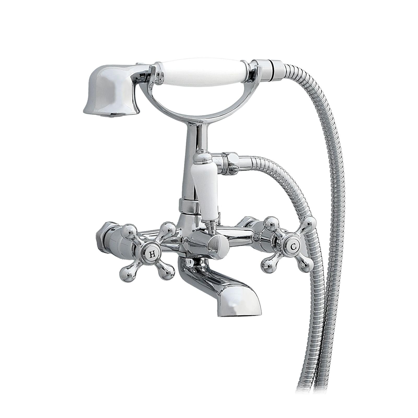 Enki windsor tradizionali rubinetto doccia lavabo bagno rubinetto muro ebay - Rubinetto bagno a muro ...