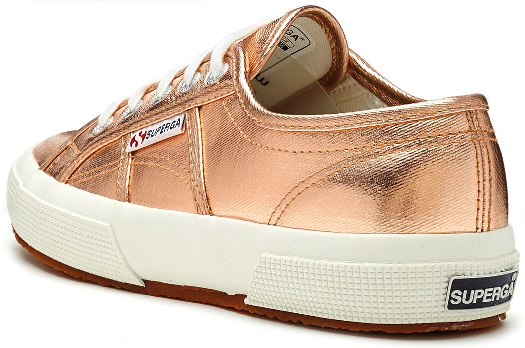 Superga 2750 cotmetu or, femme métallique Baskets en or, cotmetu rose & Argent b14c2d