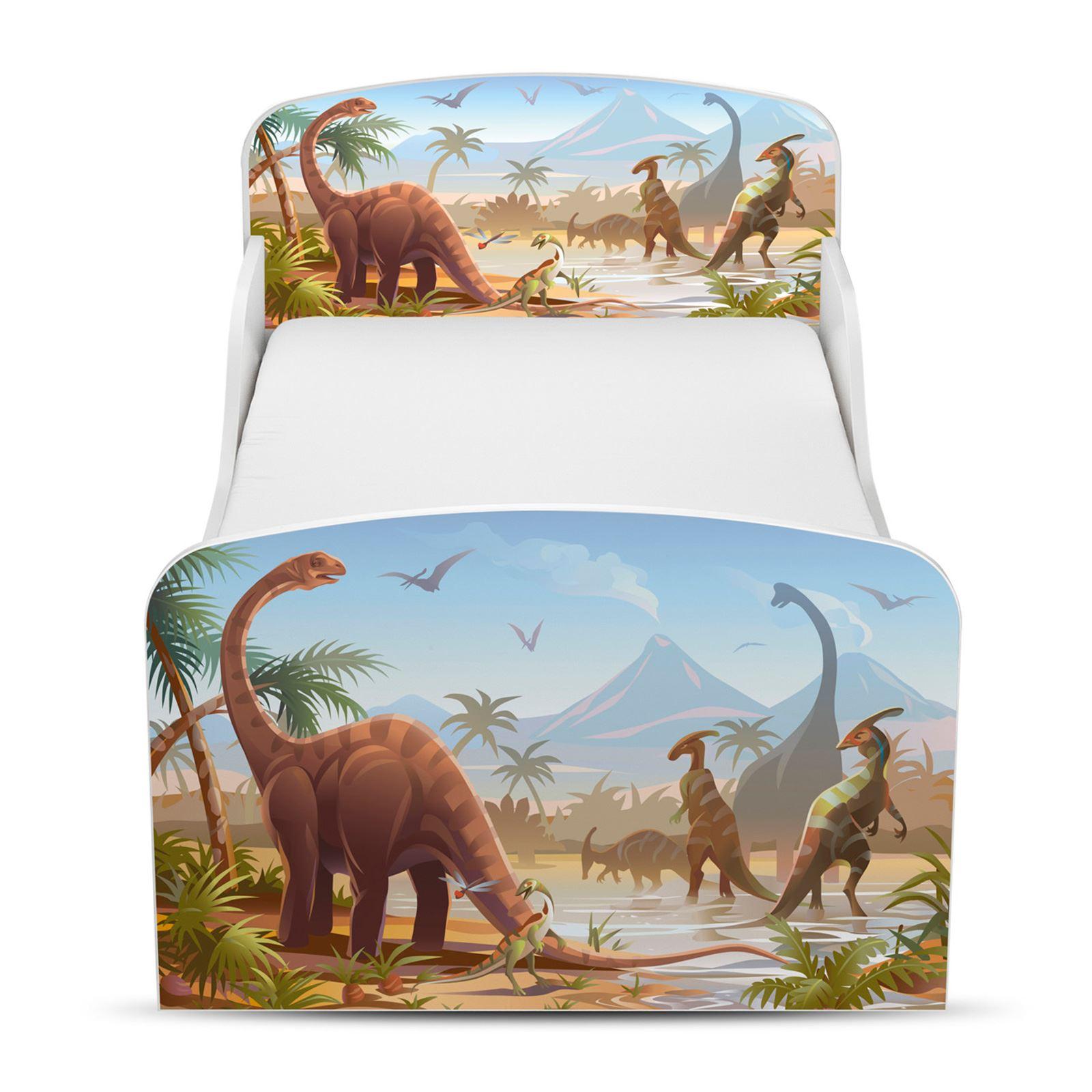 Price-Right-Home-Jurasico-Dinosaurios-Cama-Infantil-Colchon-Opciones-Nuevo miniatura 4