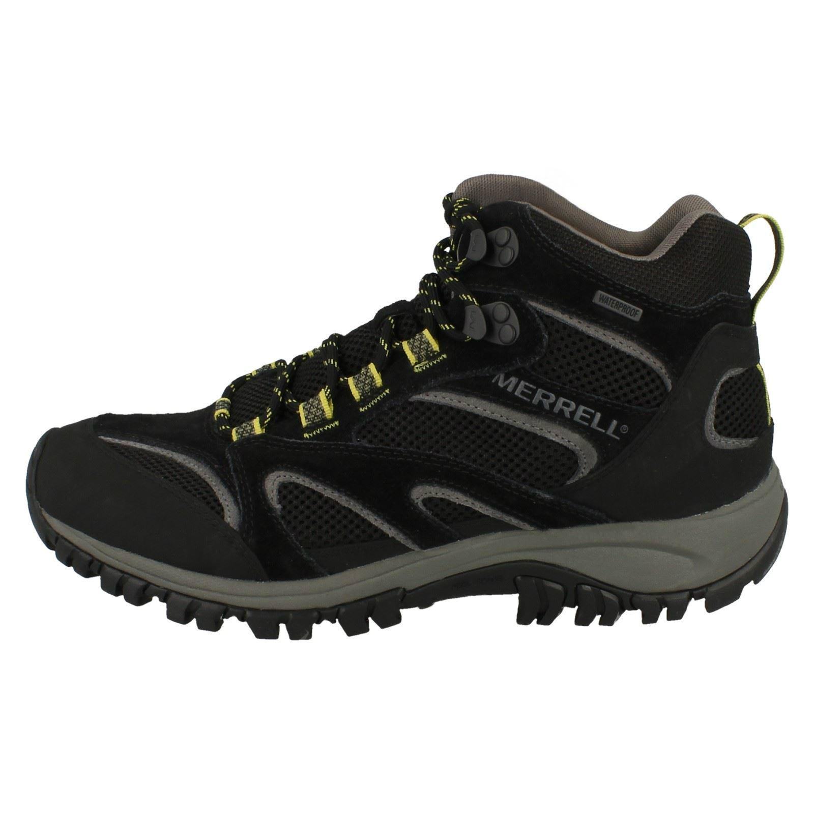 thumbnail 8 - Mens-Merrell-Waterproof-Walking-Boots-Phoenix-Mid