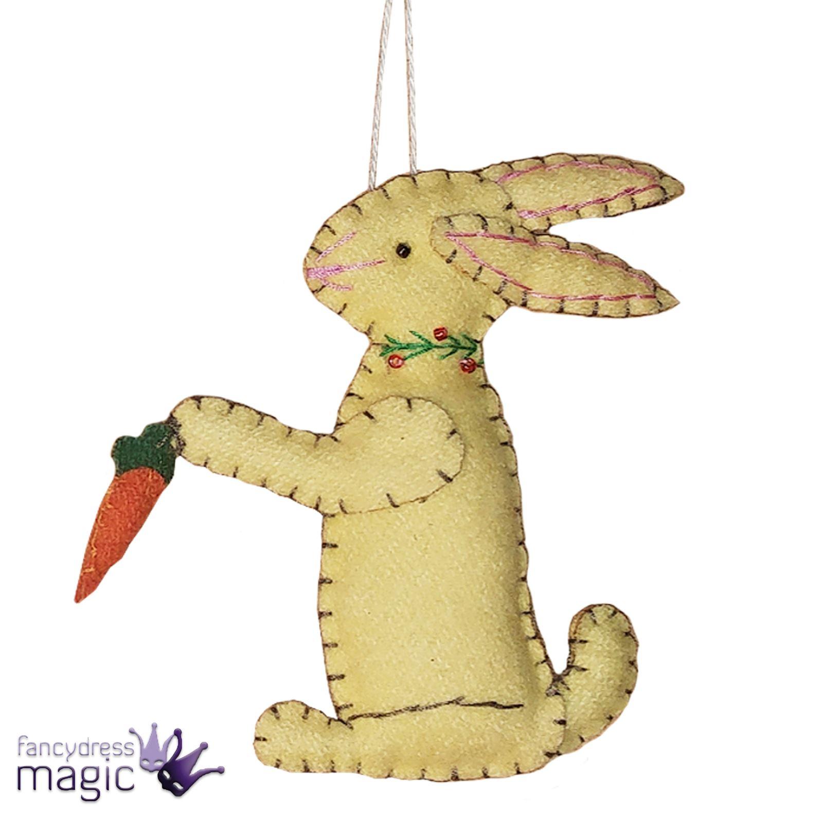 Gisela-Graham-Nuevo-Aplique-Semana-Santa-Conejo-Zanahoria-Colgante