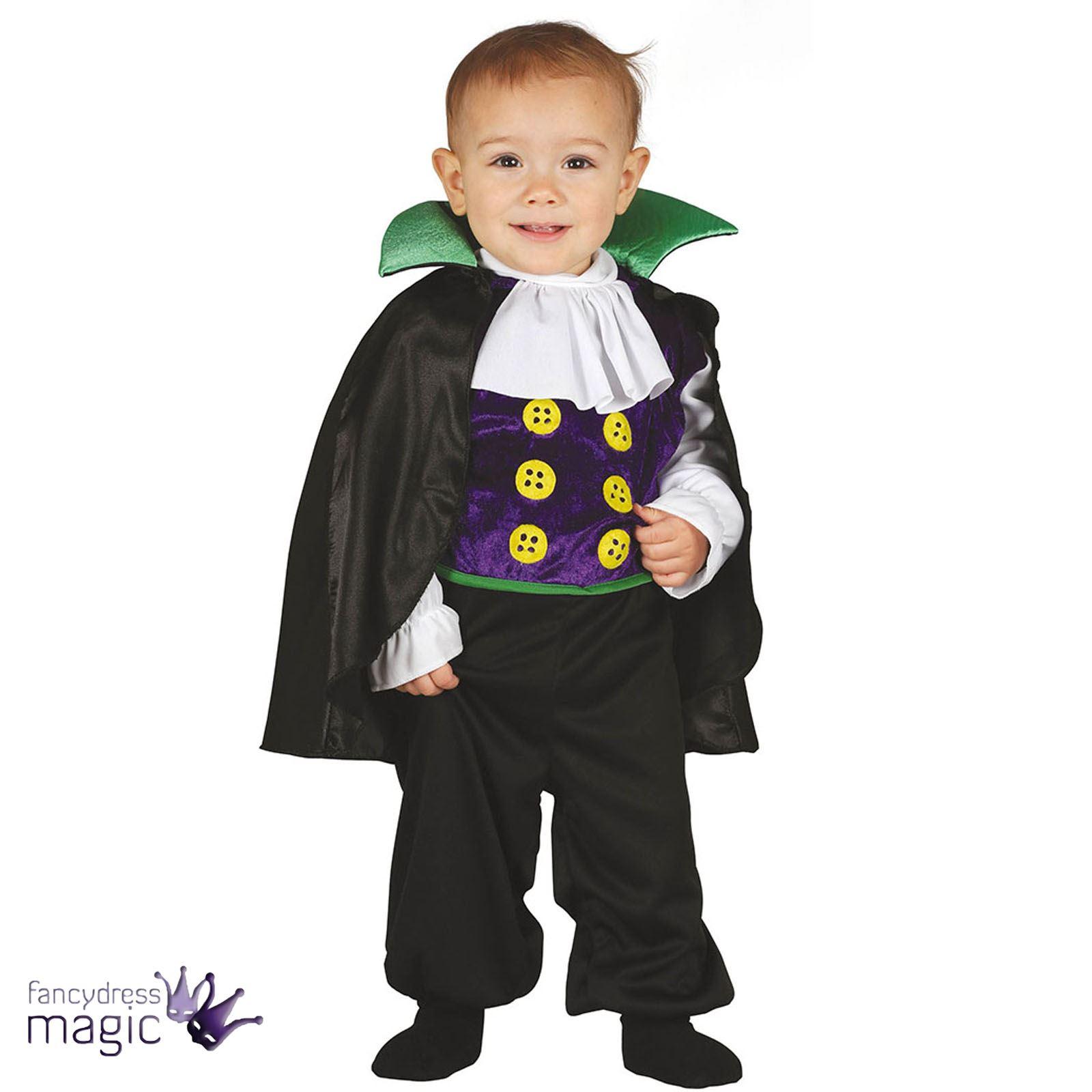 jungen baby kleinkind halloween vampir dracula kost m kleid outfit s umhang ebay. Black Bedroom Furniture Sets. Home Design Ideas