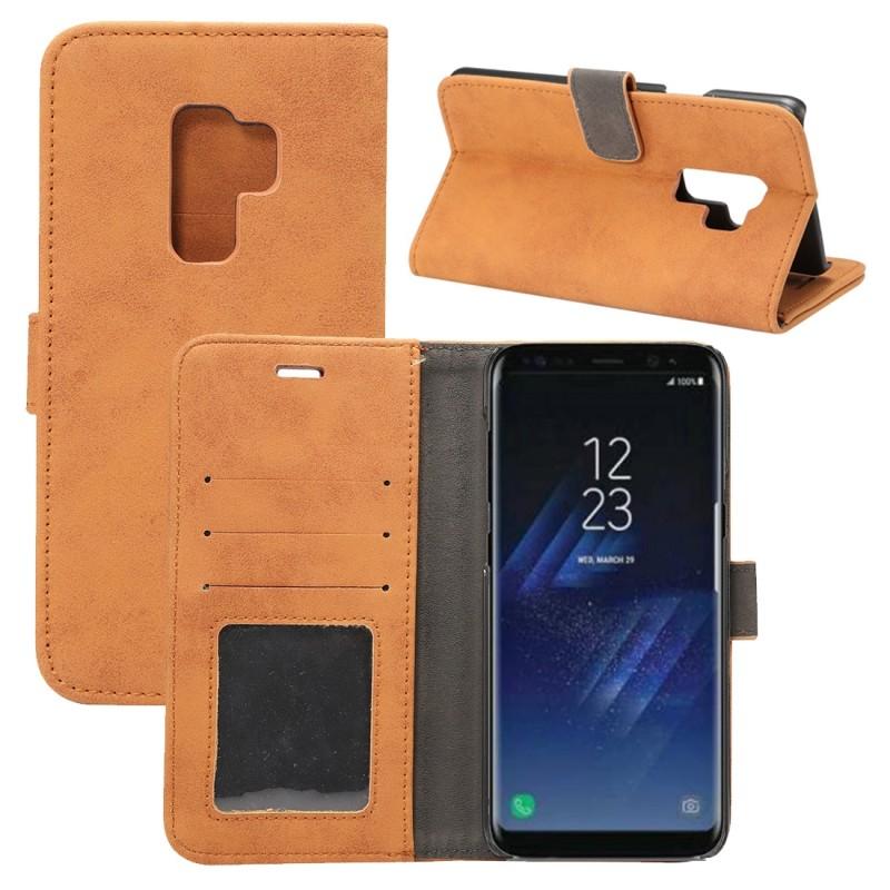 Deluxe-Retro-potada-DEL-LIBRO-WALLET-PARA-SMARTPHONES-cubierta-del-iPad-Estuche