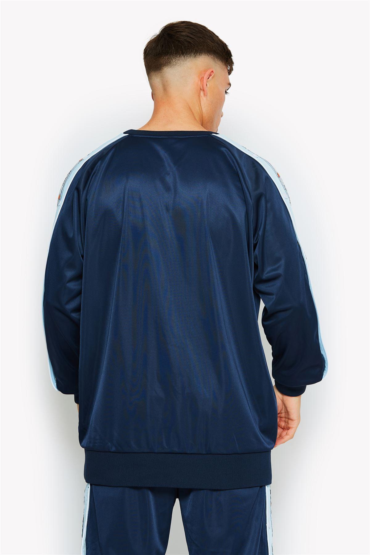 Ellesse-Trainingsanzug-Crew-Hals-Retro-Pullover-Top-amp-Trainingshose-Einzel-Dinge Indexbild 9