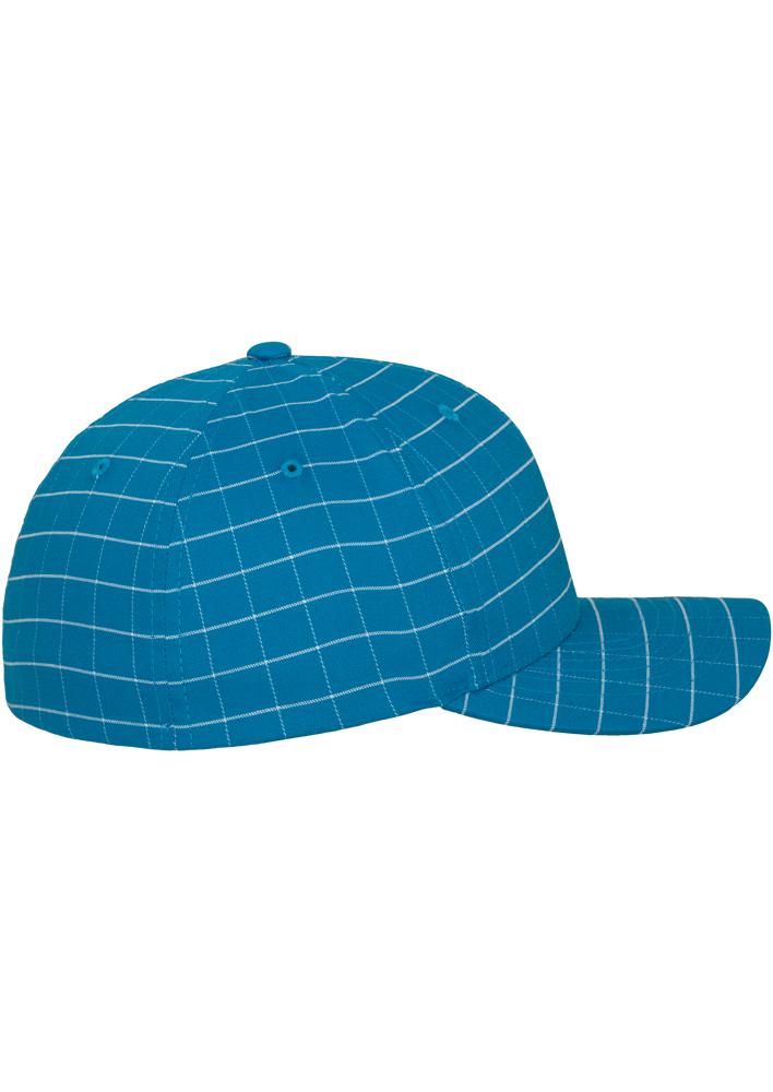Flexfit-Piazza-a-Quadri-Cappello-Yupoong-Baseball-Squareline-Berretto-Fullcap-da miniatura 14
