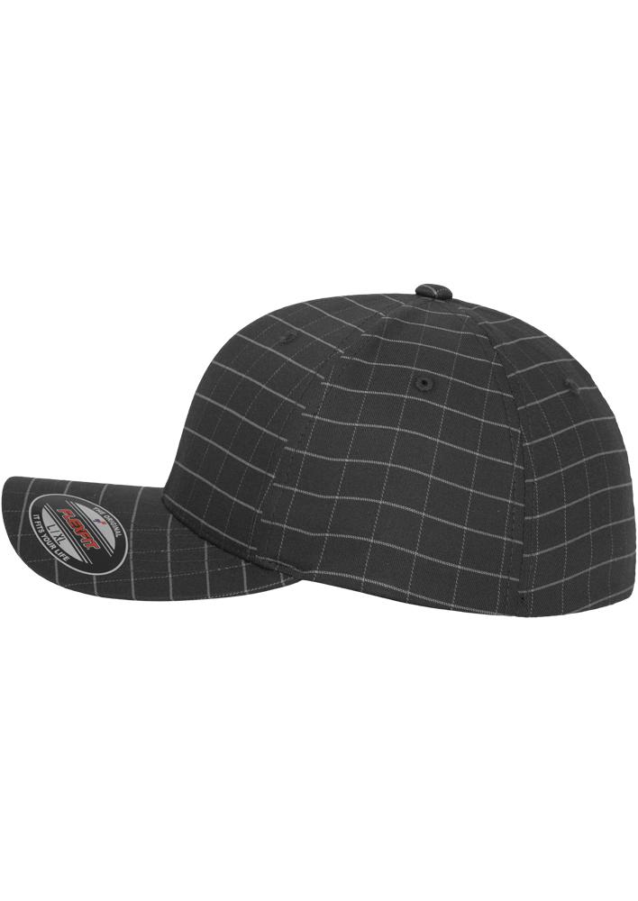 Flexfit-Piazza-a-Quadri-Cappello-Yupoong-Baseball-Squareline-Berretto-Fullcap-da miniatura 19