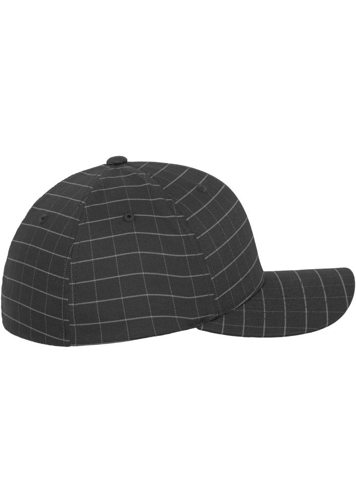 Flexfit-Piazza-a-Quadri-Cappello-Yupoong-Baseball-Squareline-Berretto-Fullcap-da miniatura 20