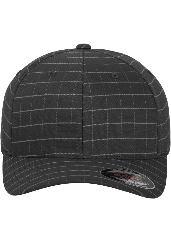 Flexfit-Piazza-a-Quadri-Cappello-Yupoong-Baseball-Squareline-Berretto-Fullcap-da miniatura 18