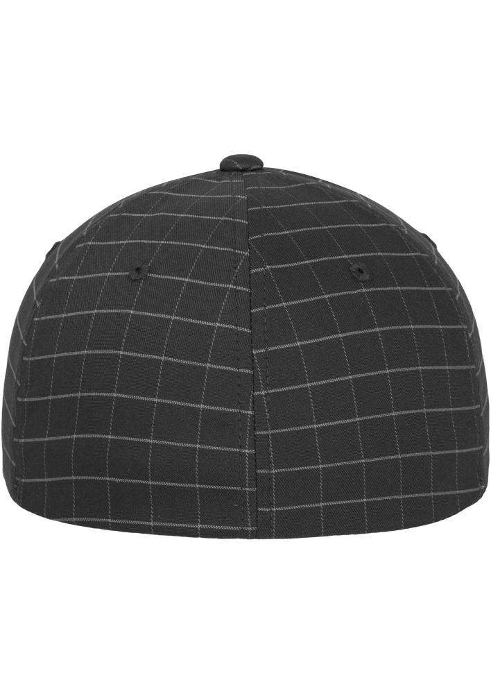 Flexfit-Piazza-a-Quadri-Cappello-Yupoong-Baseball-Squareline-Berretto-Fullcap-da miniatura 16