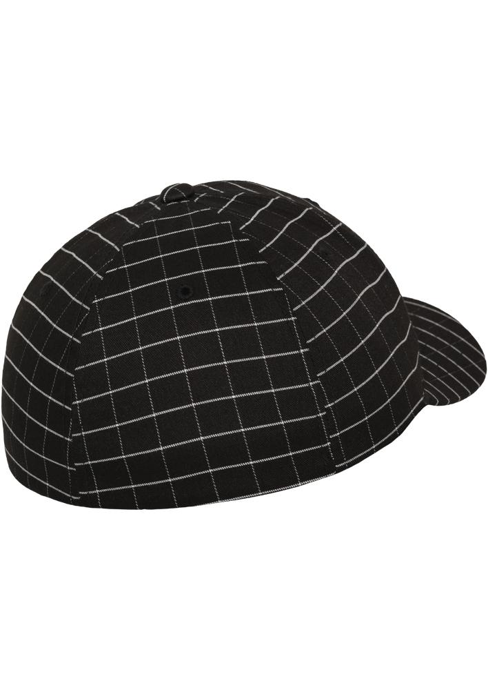 Flexfit-Piazza-a-Quadri-Cappello-Yupoong-Baseball-Squareline-Berretto-Fullcap-da miniatura 4