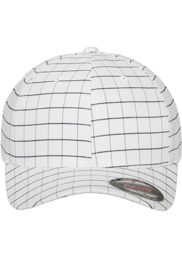 Flexfit-Piazza-a-Quadri-Cappello-Yupoong-Baseball-Squareline-Berretto-Fullcap-da miniatura 24