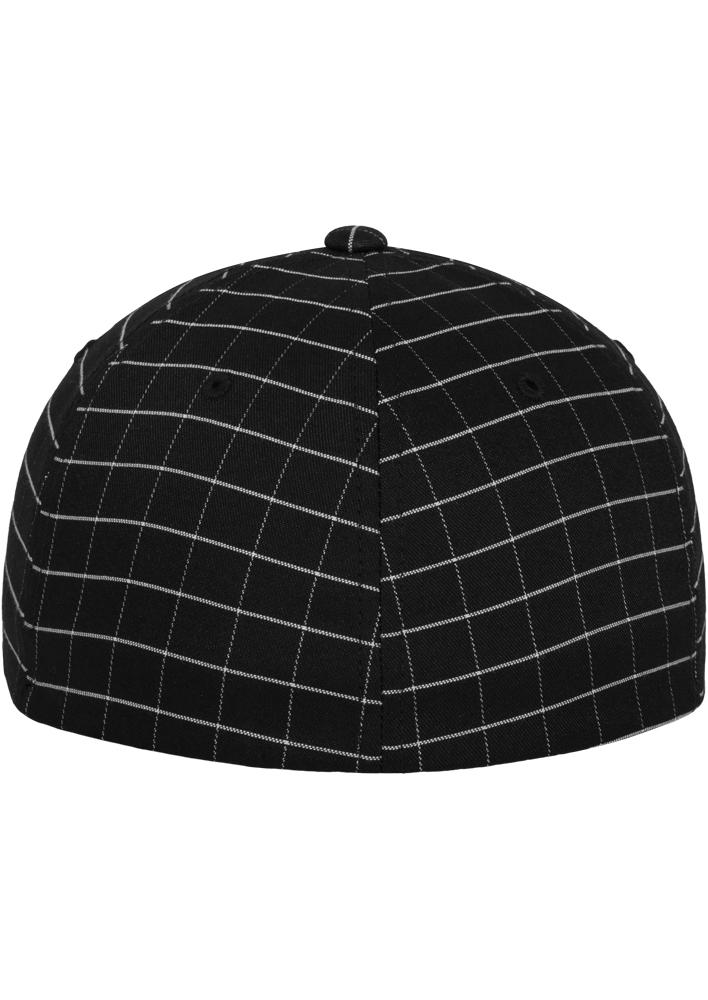 Flexfit-Piazza-a-Quadri-Cappello-Yupoong-Baseball-Squareline-Berretto-Fullcap-da miniatura 3