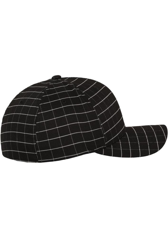 Flexfit-Piazza-a-Quadri-Cappello-Yupoong-Baseball-Squareline-Berretto-Fullcap-da miniatura 7