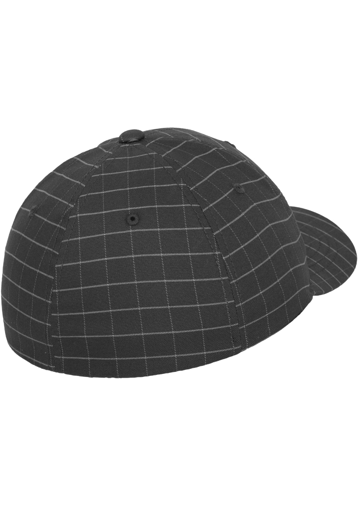 Flexfit-Piazza-a-Quadri-Cappello-Yupoong-Baseball-Squareline-Berretto-Fullcap-da miniatura 17