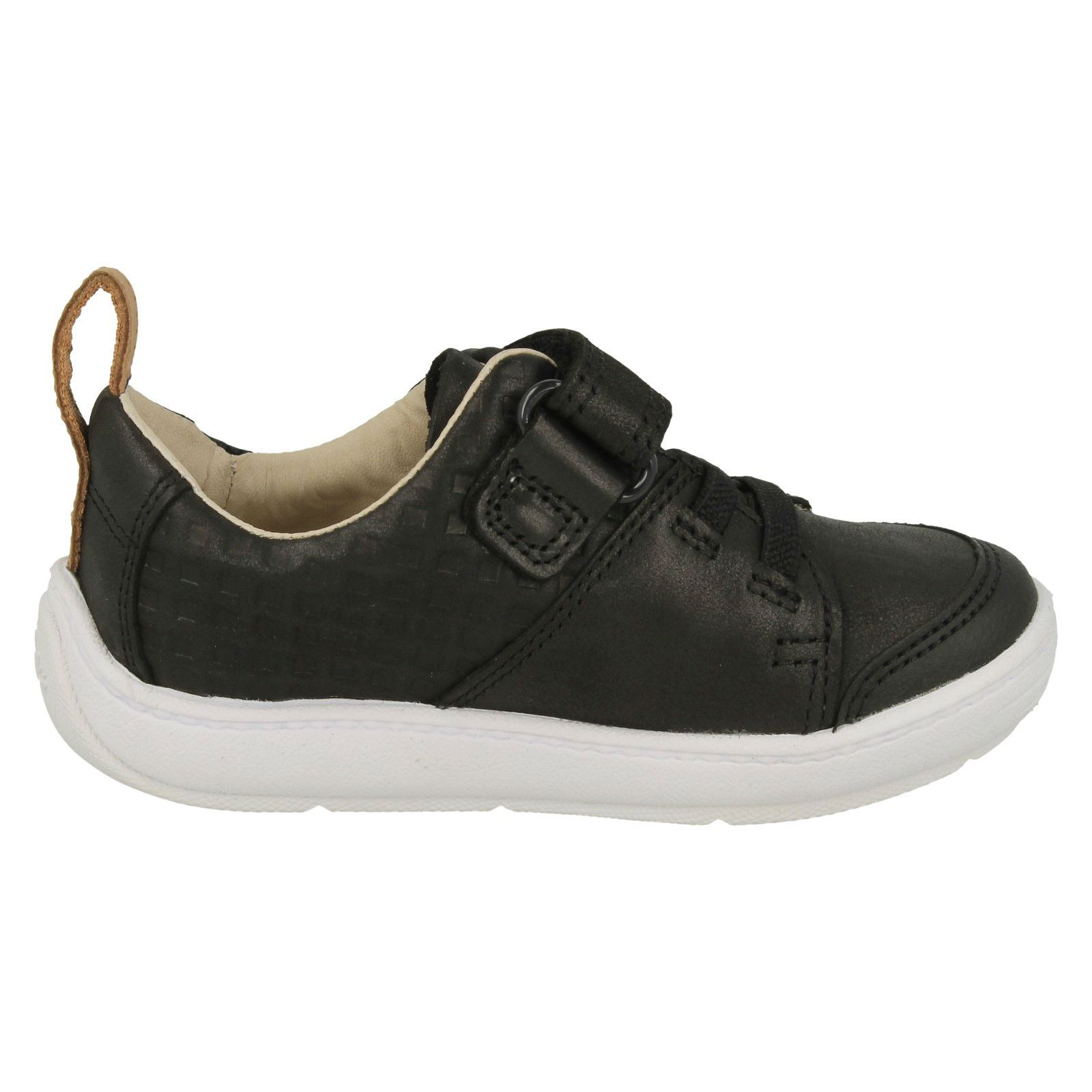 Boys Clarks Casual First Trainers /'Dash Racer/'
