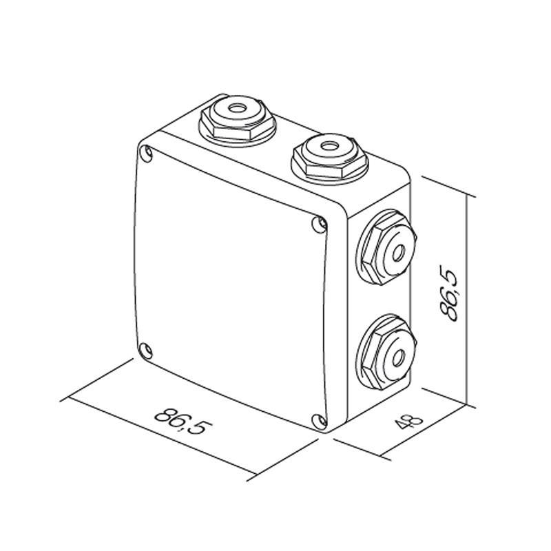 fontana humid zone ip44 program switch socket surface