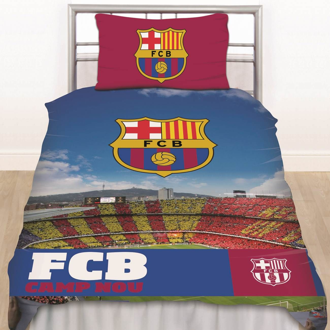 barcelona bettw sche schlafzimmer zubeh r jungen fu ball. Black Bedroom Furniture Sets. Home Design Ideas