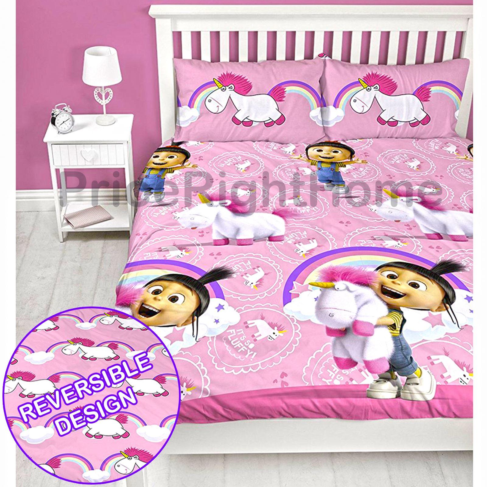 Unicorno copripiumino set bambine ragazze biancheria da letto bambini singolo - Biancheria da letto bambini ...
