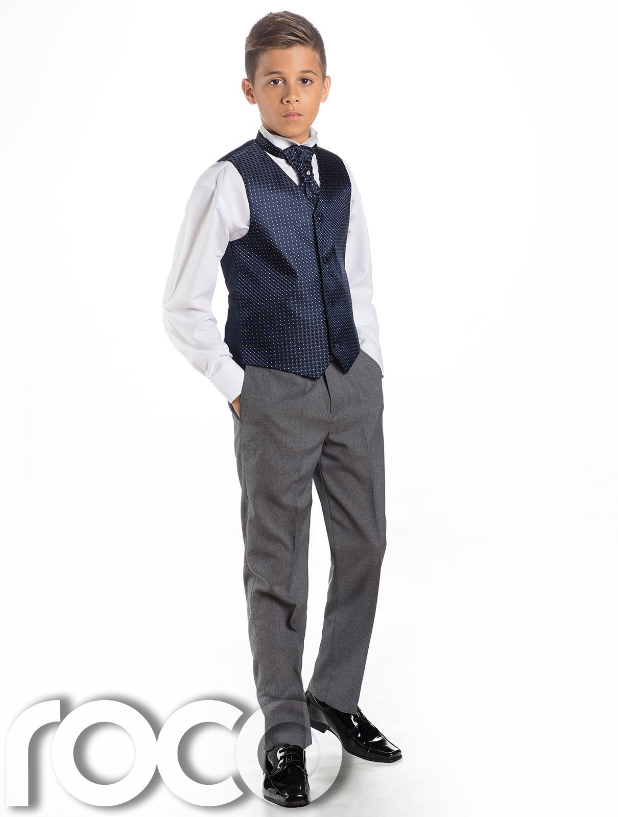 Boys Waistcoat Suit, Page Boy Suits, Boys Wedding Suits, Grey ...