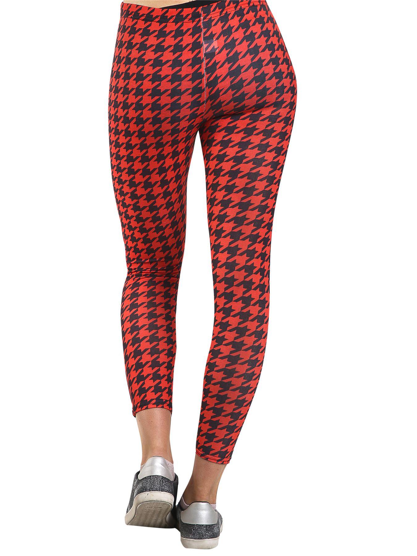 Détails sur Femmes Imprimé Yoga Pantalon Gym Fitness Course Sports Leggings Pleine Longueur