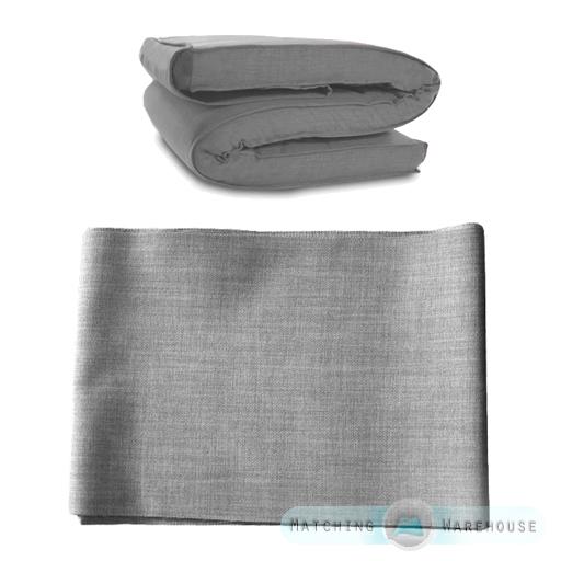 tissu de rechange housse pour futon matelas simple double tailles ebay. Black Bedroom Furniture Sets. Home Design Ideas