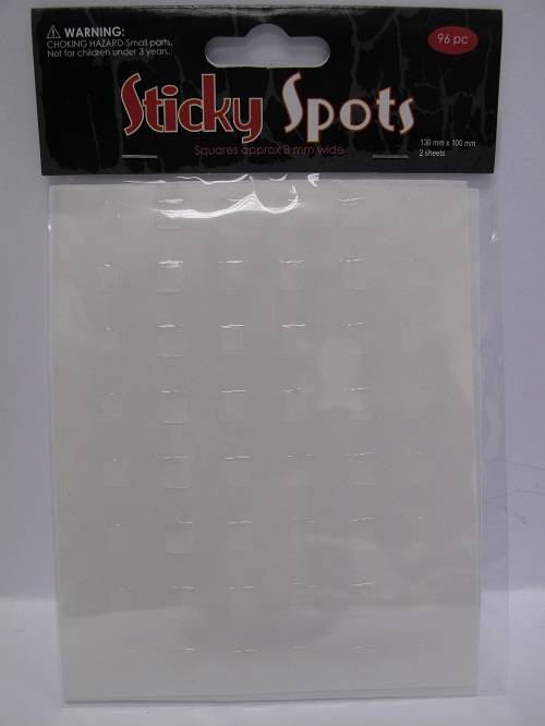 Sticky-Clear-Spots-Dots-available-in-3mm-5mm-6mm-7mm-8mm10mm-or-15mm-Wide-Crafts