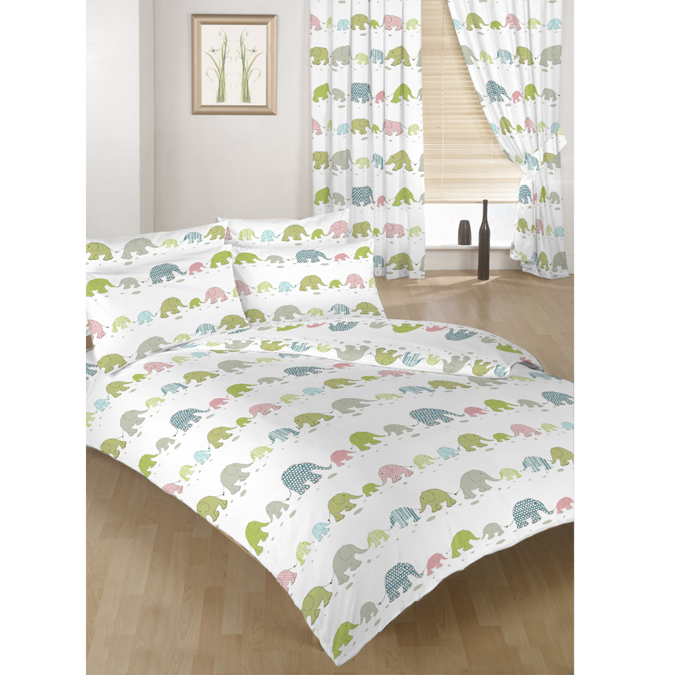 Children\'s Kids Duvet Quilt Cover Sets or Curtains Bedding Polycotton  Bedroom