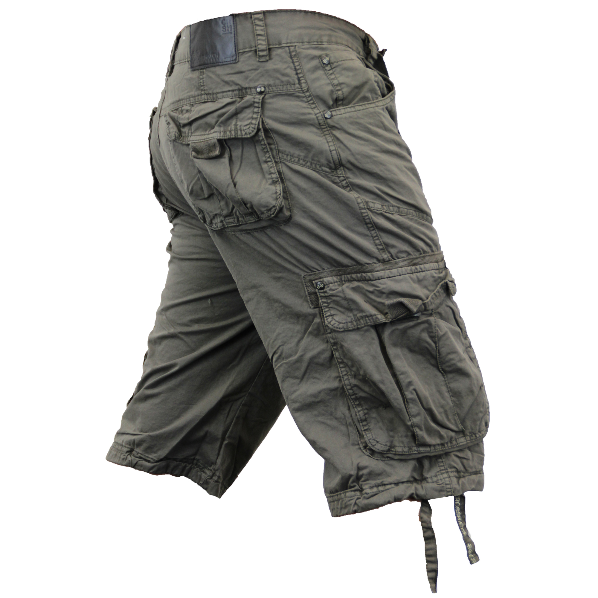 herren kampf cargo shorts crosshatch knielang norbury baumwolle oprahtwill ebay. Black Bedroom Furniture Sets. Home Design Ideas