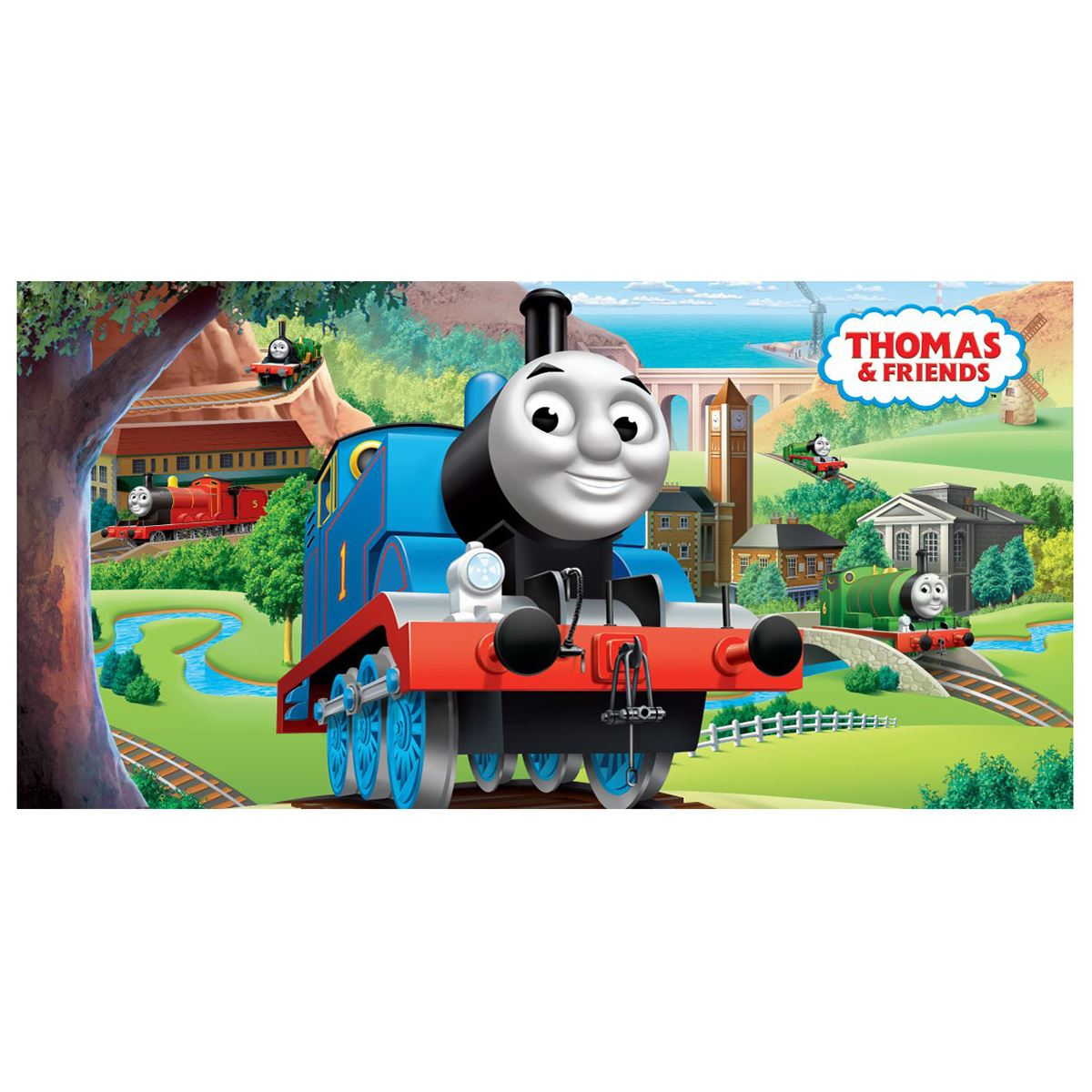 Personnage-Serviette-Coton-Garcons-Filles-Disney-Cars-Wwe-Trolls-Thomas-amp miniature 43